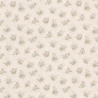 Dutch Wallcoverings Dollhouse 3 Tatianna Sprig paars - 22137