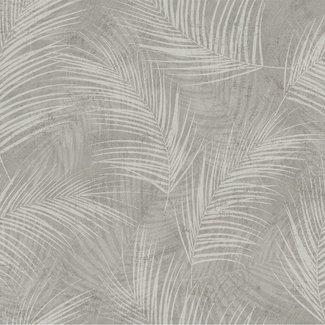 Dutch Wallcoverings Palma palm grijs - 18117