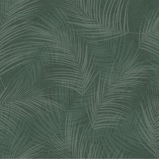 Dutch Wallcoverings Palma palm groen - 18119