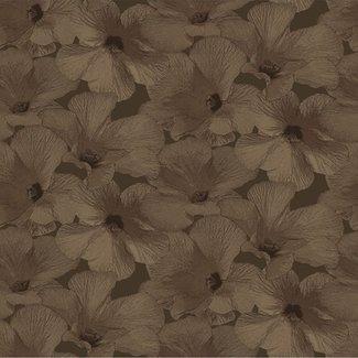 Dutch Wallcoverings Annuell Hibiscus koper - 11006