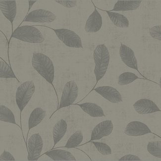 Dutch Wallcoverings Design Leaves grey - 12018