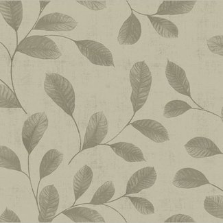 Dutch Wallcoverings Design Leaves grey-beige - 12020
