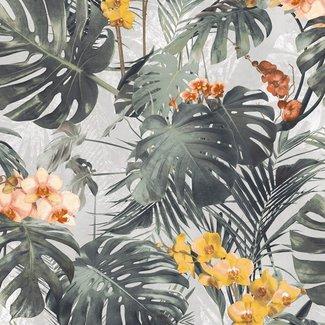 Dutch Wallcoverings Myriad Paradiso groen/oker - MY2101