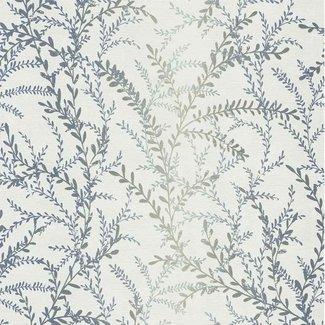 Dutch Wallcoverings Seasons tak wit/grijsblauw - 02502-90