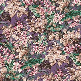 Dutch Wallcoverings Beaux arts 2 floral purple - BA220024
