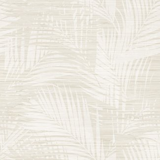 Dutch Wallcoverings Insignia Palm wit/beige - 24402