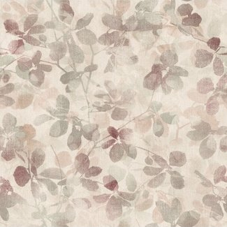 Dutch Wallcoverings Passion Leaf beige/rood - 37015
