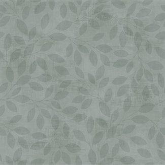 Dutch Wallcoverings Solitär leaf grey/green - 41015