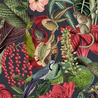 Dutch Wallcoverings Jungle Fever Amazon roze/groen - JF2201