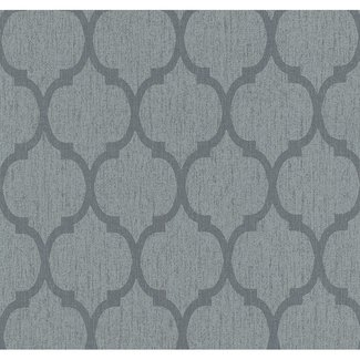Dutch Wallcoverings Casual Chic dessin antraciet - 13353-50