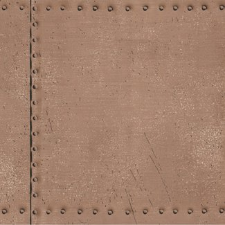 Dutch Wallcoverings Oxford Riveted brons - 21253