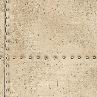 Dutch Wallcoverings Oxford Riveted beige - 21254