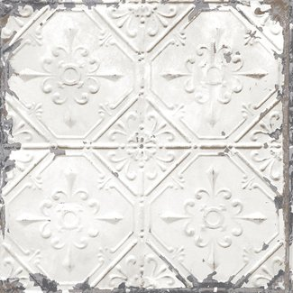 Dutch Wallcoverings Trilogy Tin Ceiling wit - 22305