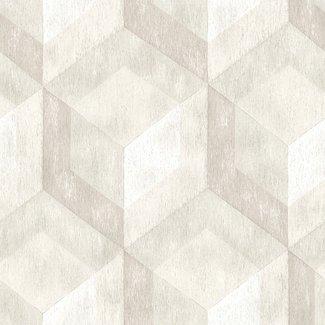 Dutch Wallcoverings Reclaimed Rustic Wood Tile beige - 22308