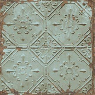 Dutch Wallcoverings Trilogy Tin Ceiling groen - 22331
