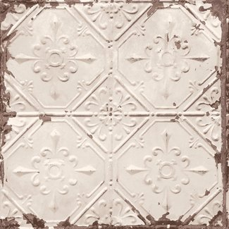 Dutch Wallcoverings Trilogy Tin ceiling  beige  - 22332
