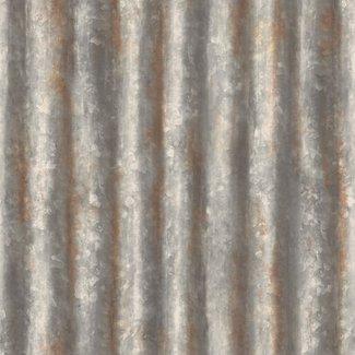 Dutch Wallcoverings Trilogy Corrugated metal  steel - 22333