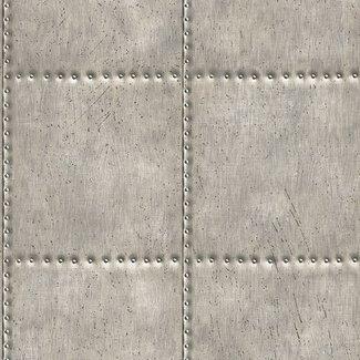 Dutch Wallcoverings Trilogy Sheet metal  steel - 22343