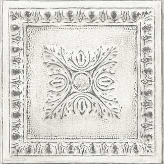 Dutch Wallcoverings Trilogy Ornamental tin ceiling  whote  - 24031
