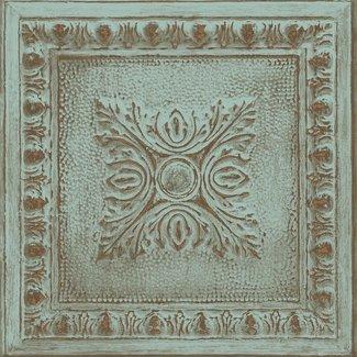 Dutch Wallcoverings Restored Ornament Tin Ceiling groen - 24032