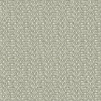 Dutch Wallcoverings Annuell kleine bloem grijsgroen - 11007