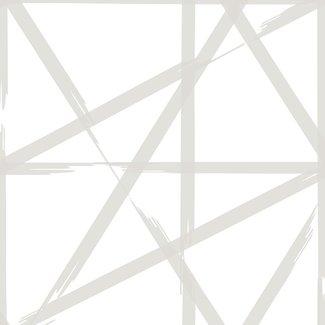 Dutch Wallcoverings Eclipse Voltage wit/beige - 23802