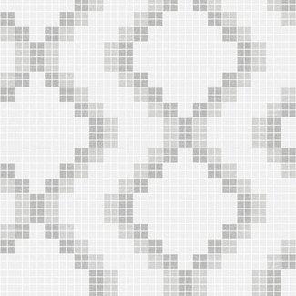 Dutch Wallcoverings Eclipse Mosaic grijs - 23863