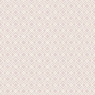 Dutch Wallcoverings Maison Chic Ella paars/ivoor - 22020