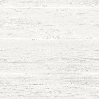 Dutch Wallcoverings Trilogy White washed boards  off white  - 22307