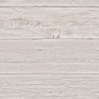 Dutch Wallcoverings Trilogy White washed boards  taupe  - 22323