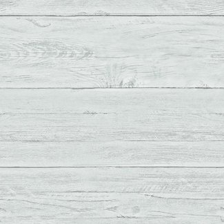 Dutch Wallcoverings Reclaimed White Washed Boards blauw - 22325