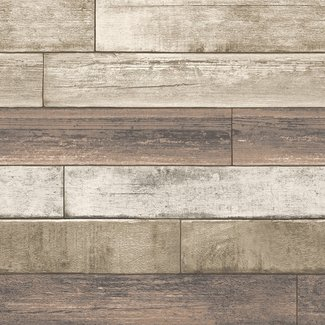 Dutch Wallcoverings Trilogy Weathered Plank bruin - 22347