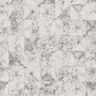 Dutch Wallcoverings Collage blok/driehoek lichtbeige - 42501-20