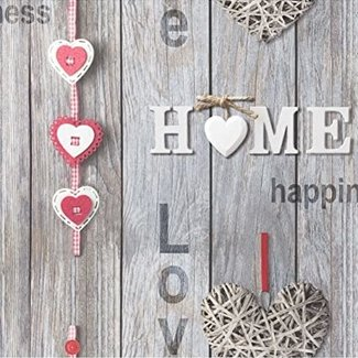 Dutch Wallcoverings Behang Love Your Home - 41718