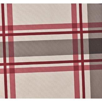 Dutch Wallcoverings Vlies ruit rood/creme - 7309-4