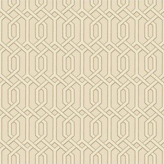 Dutch Wallcoverings Beaux arts 2  cream geometric - BA220014