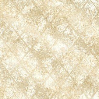 Dutch Wallcoverings Reclaimed Mercury Glass creme/goud - 22327
