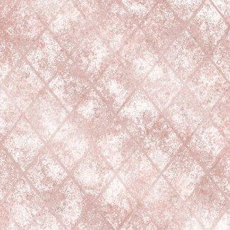 Dutch Wallcoverings Reclaimed Mercury Glass roze - 22329