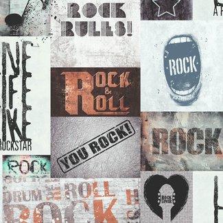 Dutch Wallcoverings Freestyle Rock & Roll - 102567