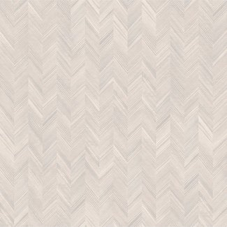 Dutch Wallcoverings Level One visgraat beige/zilver - LV3102