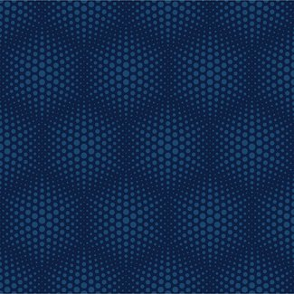 Dutch Wallcoverings Galactik stippen blauw - J506-01