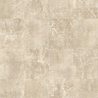 Dutch Wallcoverings Insignia Brushstoke Squares goud/beige - 24431