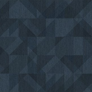 Dutch Wallcoverings Passion Grafic blauw - 37010