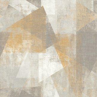 Dutch Wallcoverings Perspectives dessin beige/grijs - PP3602