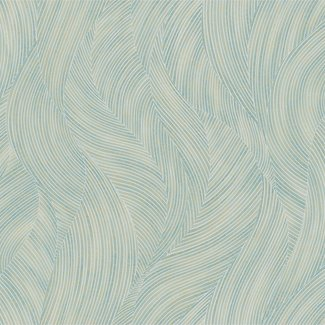Dutch Wallcoverings Verde 2 wave effect blue - VD219169