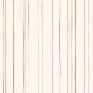 Dutch Wallcoverings Carousel streep beige - 21133