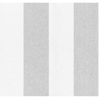 Dutch Wallcoverings Vliesbehang streep grijs - 13352-20