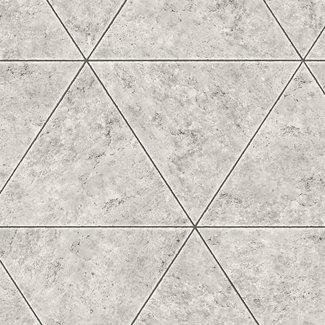Dutch Wallcoverings Restored Polished Concrete grijs - 24013