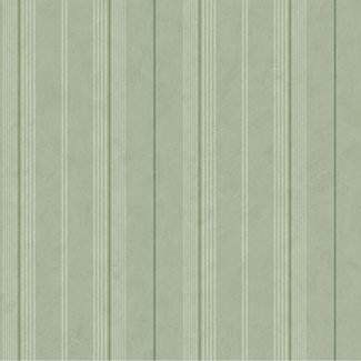 Dutch Wallcoverings Annuell streep groen - 11022