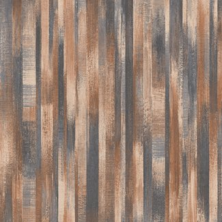 Dutch Wallcoverings Perspectives dessin bruin - PP3204